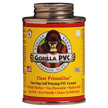 Gorilla Glue PVC Cement