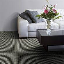 Wool Carpet by J Mish, Black Tie