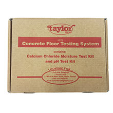 Taylor Tools Calcium Chloride Moisture Test Kit
