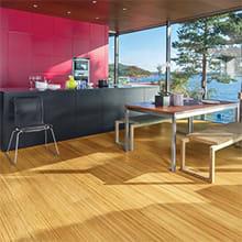 Sustainable Bamboo Flooring from Teragren Studio, Engineered, Wide Plank Solid Bamboo