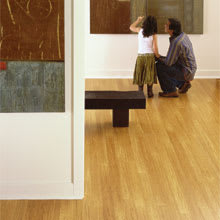 Sustainable Bamboo Flooring from Teragren Synergy, Wide-Plank Strand Bamboo