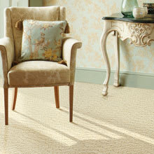 Wool Carpet by Unique Carpets, Coral Sea