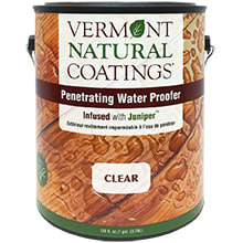 Vermont Natural Coatings, Exterior, Penetrating Water Proofer
