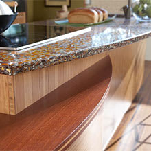 Vetrazzo Recycled Glass Countertop