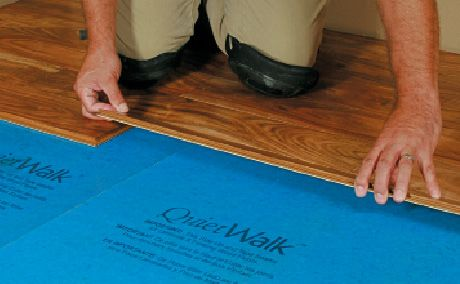 Hardwood flooring underlayment non toxic effective for Wood floor underlayment