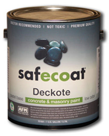 Afm Safecoat Deckote Concrete Floor Paint Low Odor