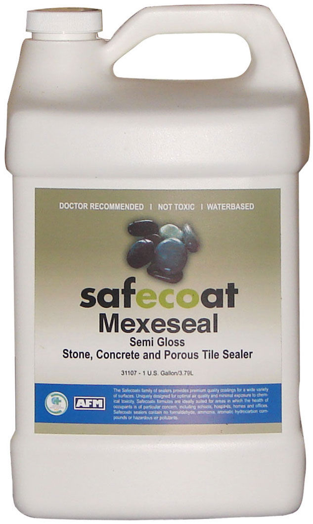 Afm Safecoat Mexeseal Non Toxic Topical Gloss Sealer