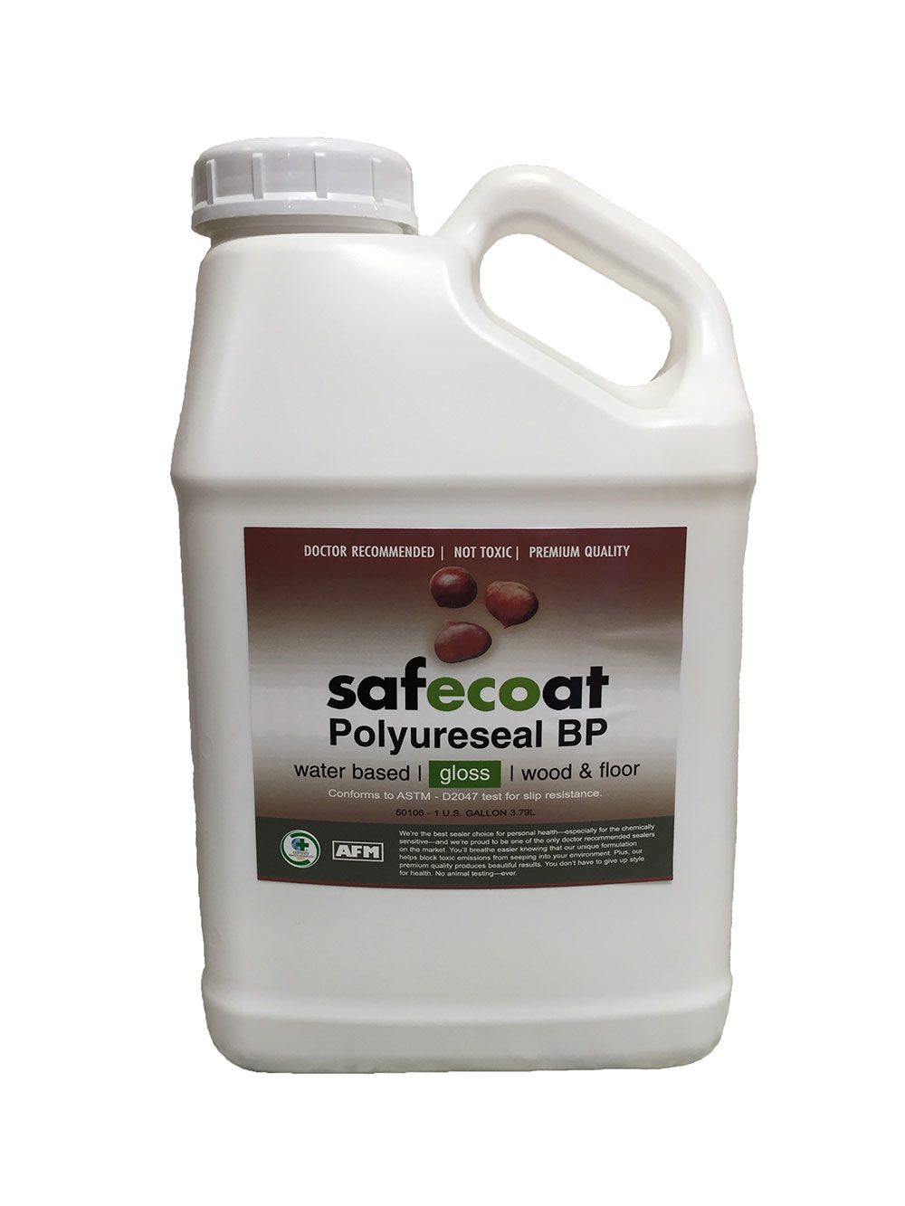 Afm safecoat polyureseal bp non toxic durable for Reseal cork flooring