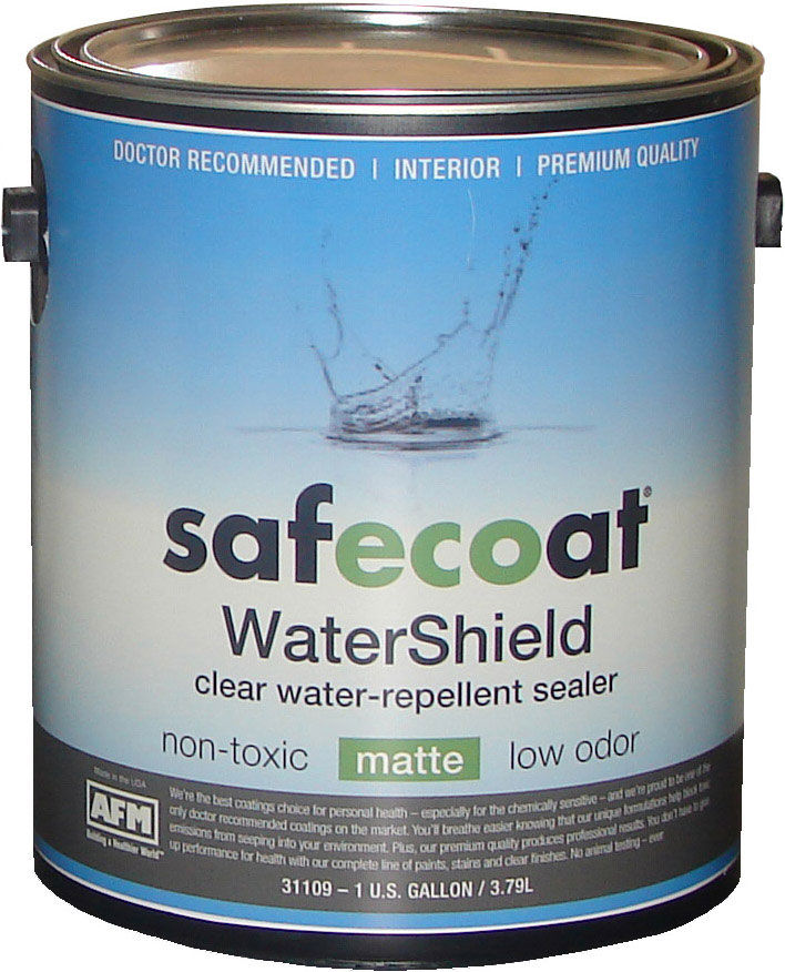 AFM SafeCoat, WaterShield - Non-Toxic Water Sealer for