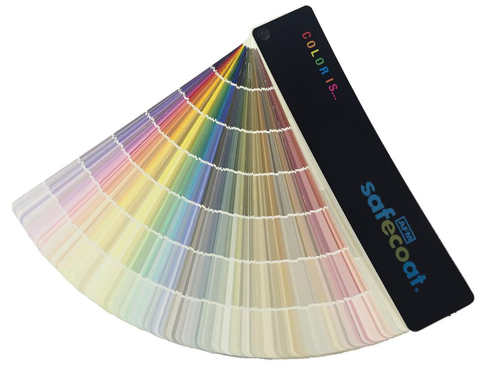 Afm Safecoat Color Swatch Book Paint Fan Deck