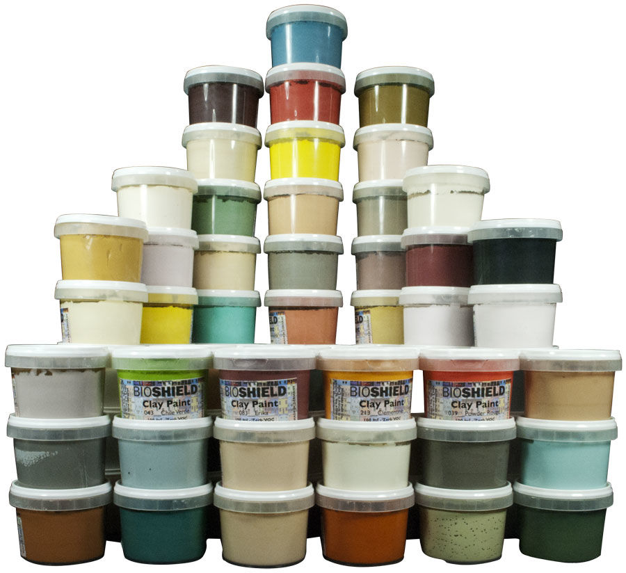 Bioshield Clay Paint Venetian Collection Non Toxic