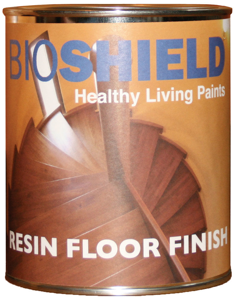 Bioshield Resin Floor Finish Non Toxic All Natural