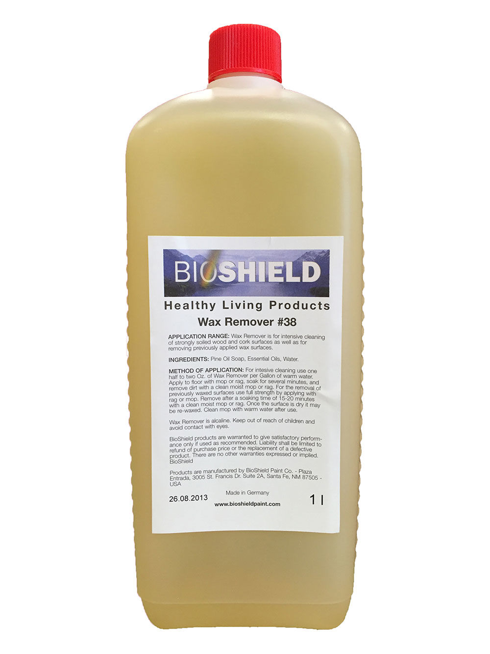 Bioshield Wax Remover Non Toxic Heavy Wax And Deep