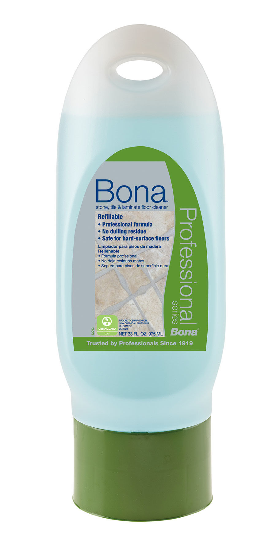 Bona pro series spray mop cleaner cartridge tile 33oz - Bona spray mop ...