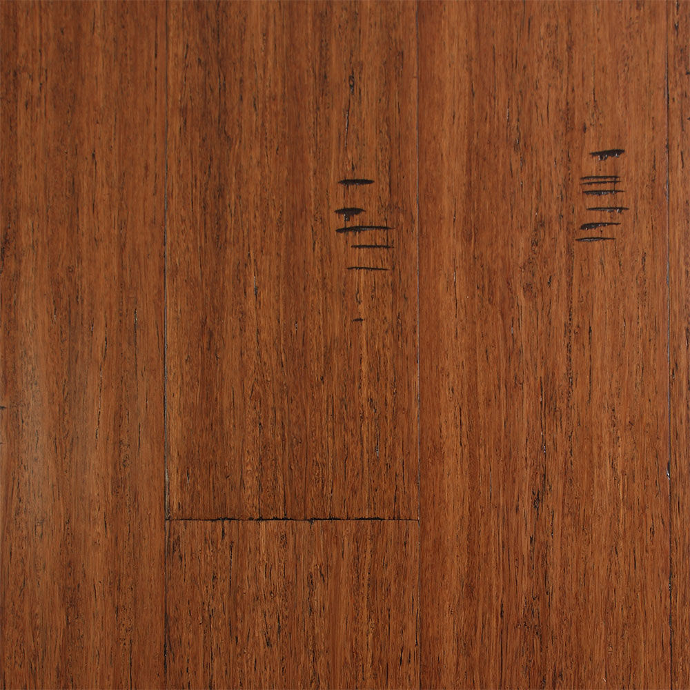 Ecofusion Solid Drop Amp Lock Bamboo Flooring Sarsaparilla
