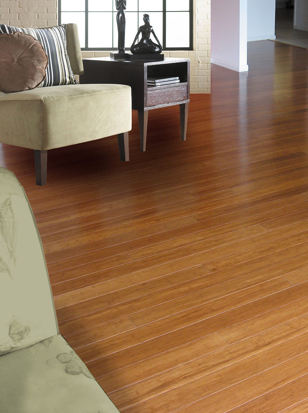 glossy coffee bamboo flooring woven bb t products medium floor g simply strand img