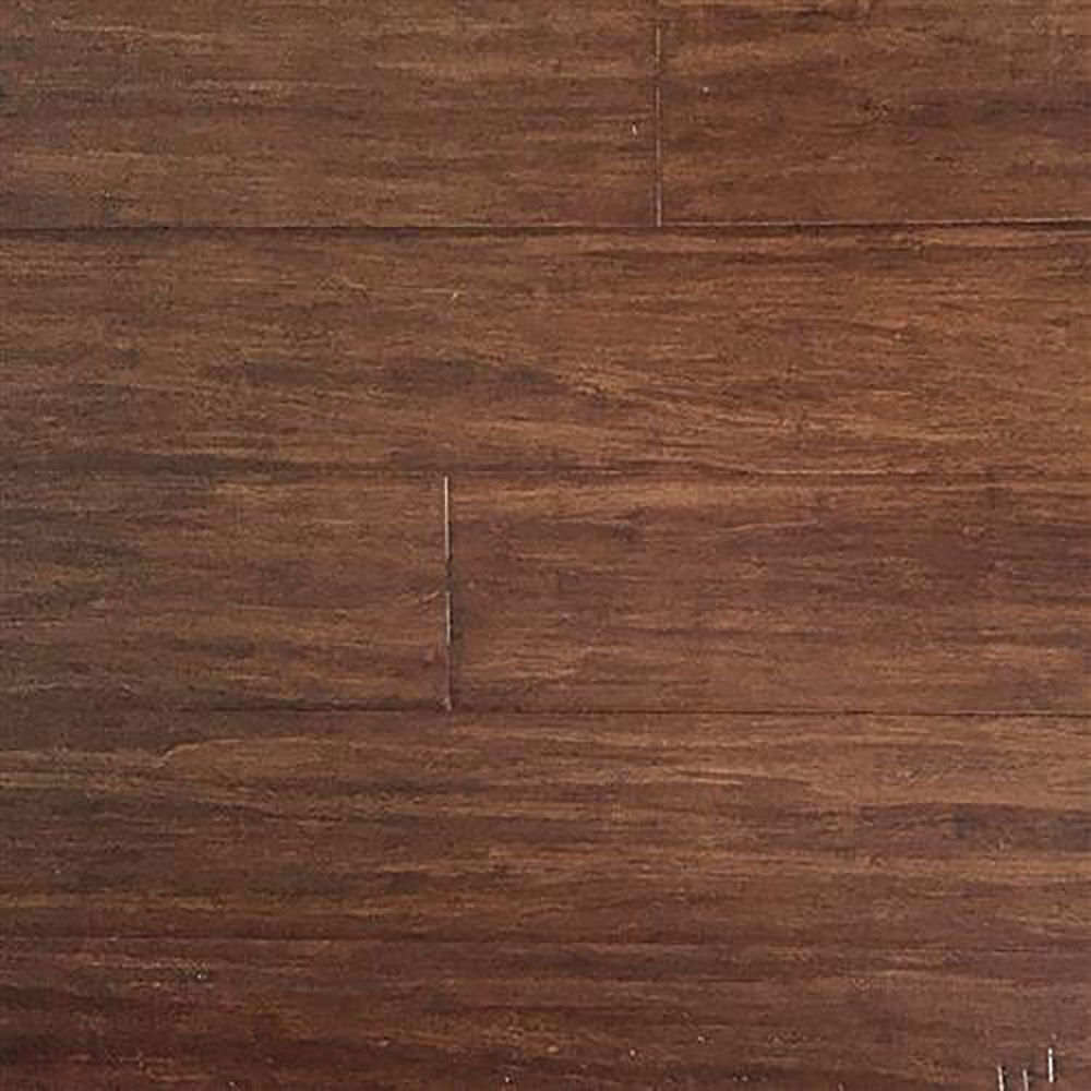 EcoFusion Wide Plank Solid Bamboo Flooring, Java