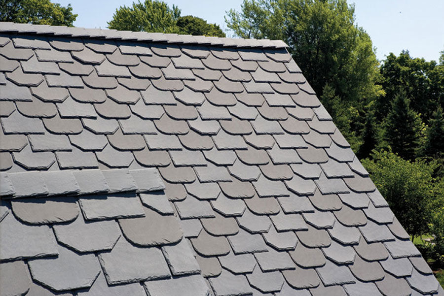 EcoStar Majestic Slate Tiles EcoFriendly Durable Recycled – Roof Shingles Square Feet Per Bundle
