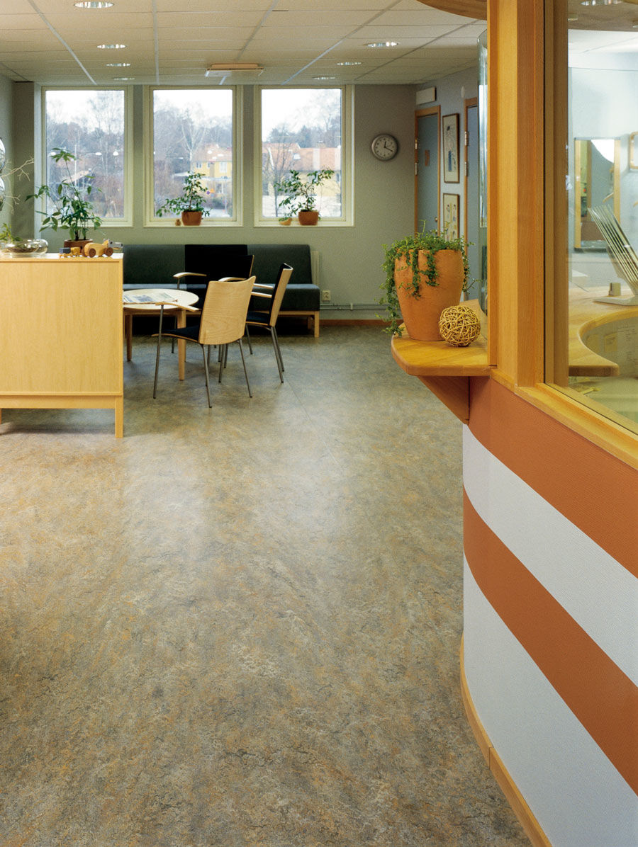 Forbo marmoleum vivace natural linoleum non toxic for All floors