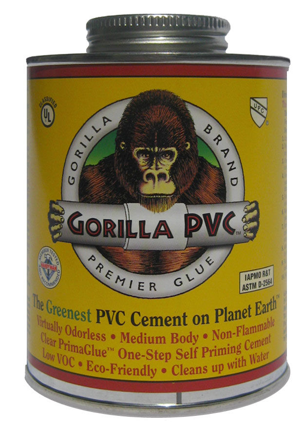 Gorilla Glue Pvc Cement Eco Friendly Low Odor