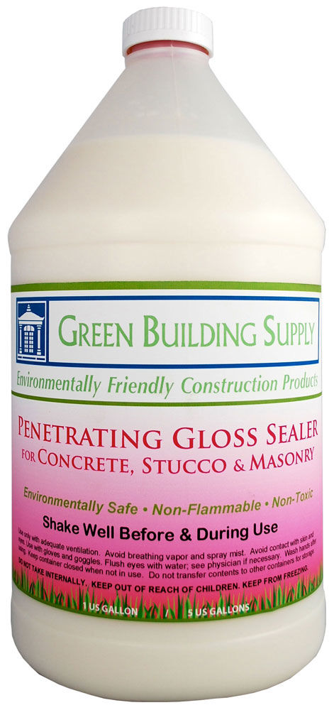 Green Building Supply Penetrating Gloss Sealer Non