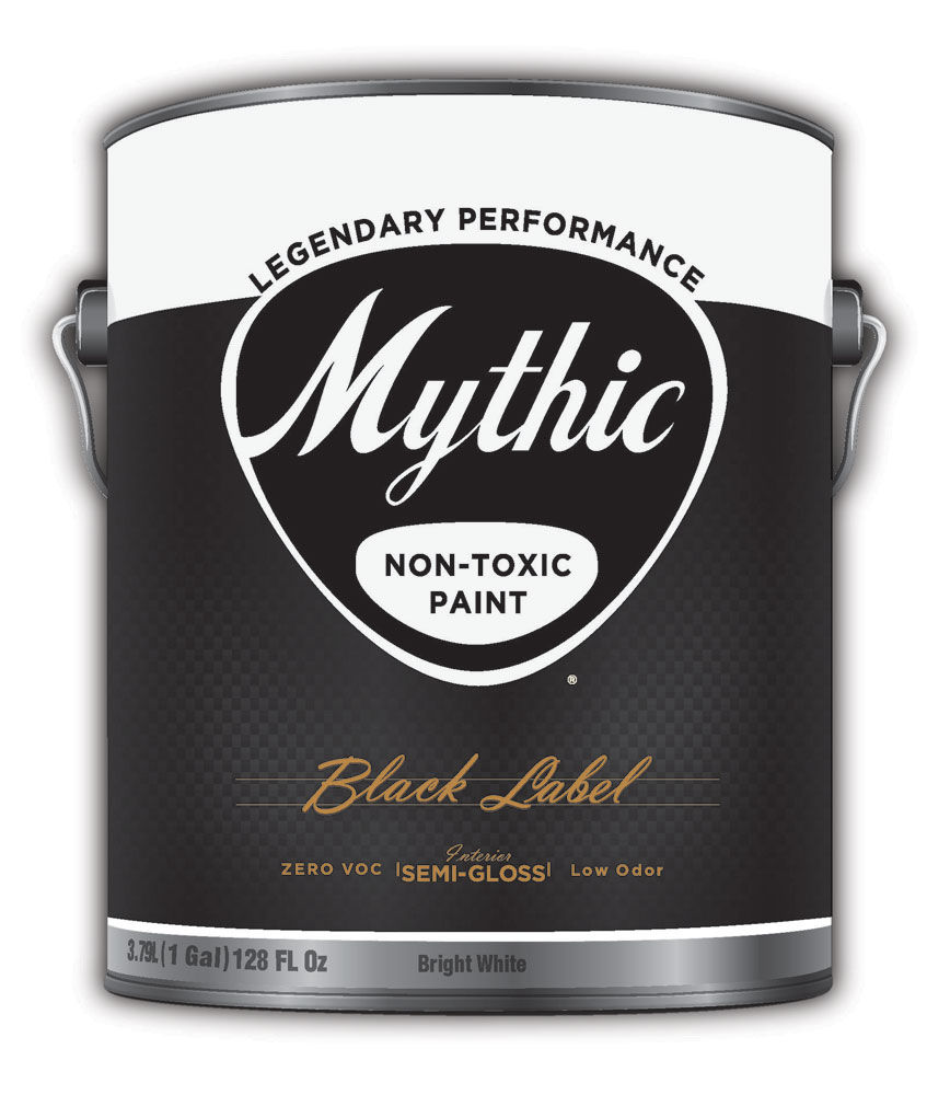 Mythic Black Label Paint Non Toxic Low Odor 100