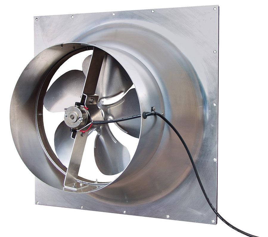 Natural Light Energy Systems Solar Attic Fan Gable