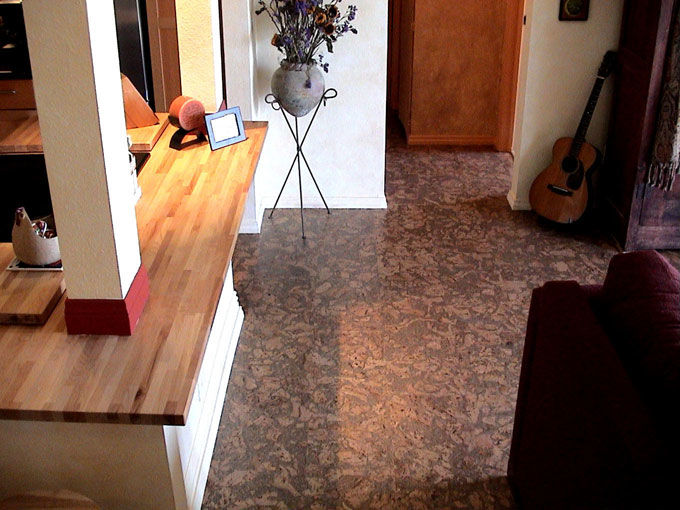 nova naturals cork floating floor eco friendly durable non toxic fsc certified green. Black Bedroom Furniture Sets. Home Design Ideas