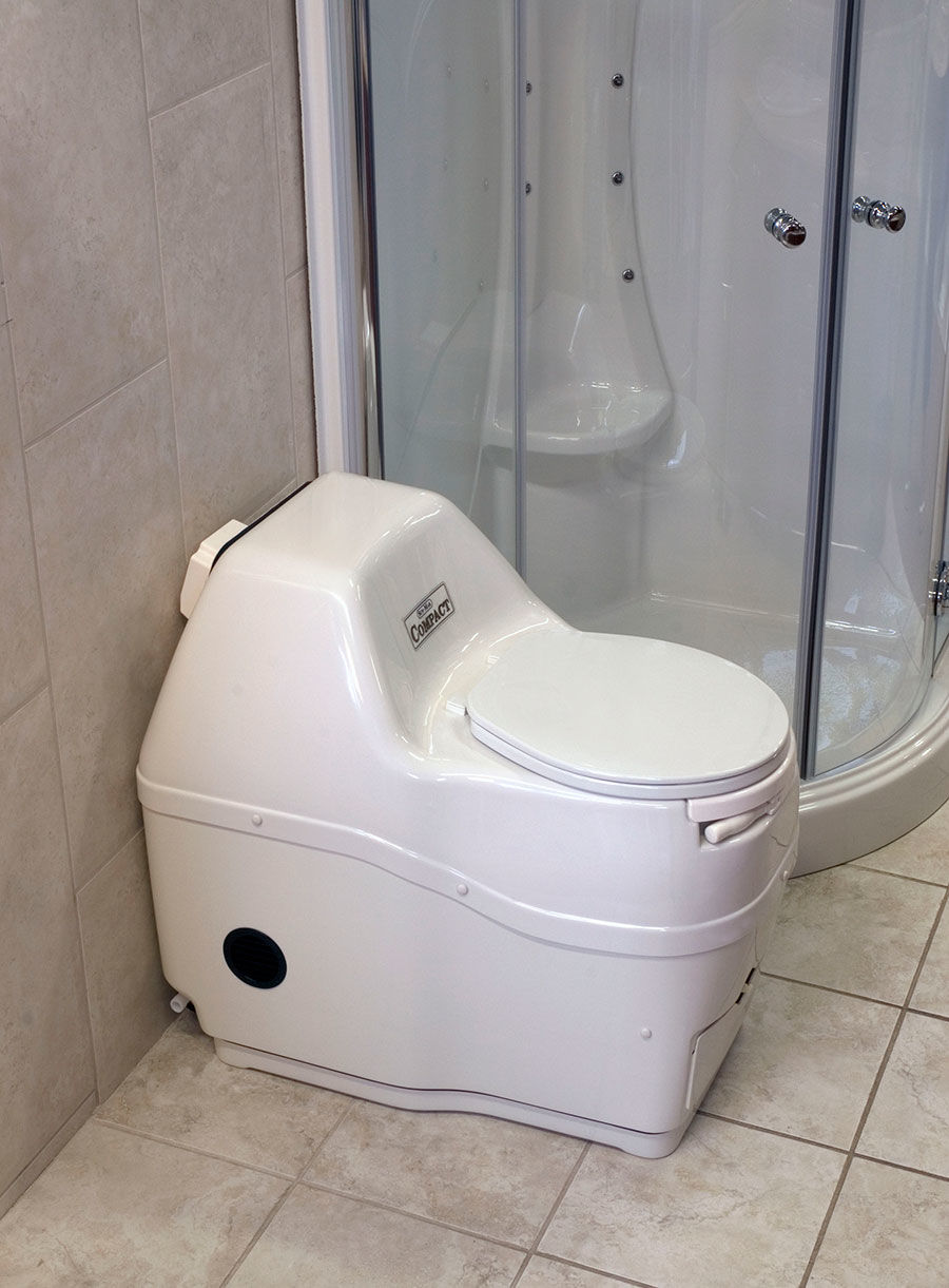 Sun Mar Composting Toilet Self Contained Odor Free