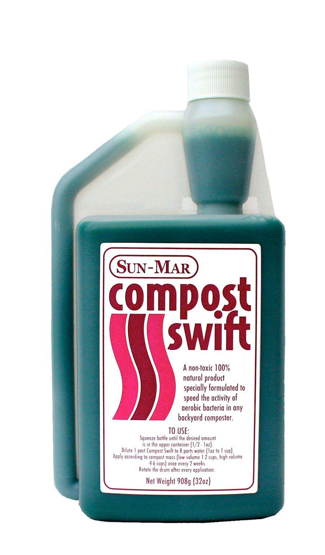Sun Mar Compost Swift Non Gmo Liquid Compost Accelerator
