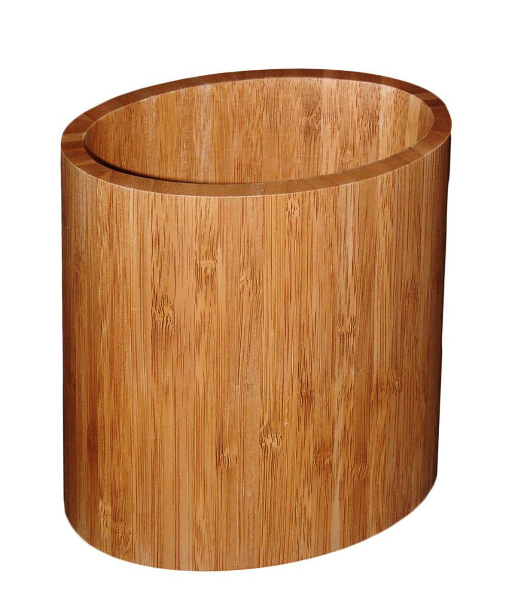 Bamboo Sheets Toxic: Totally Bamboo, Oval Utensil Holder