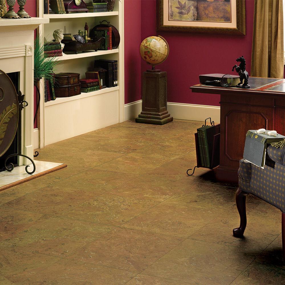 Millstead Caramel Straw Cork Flooring Designs