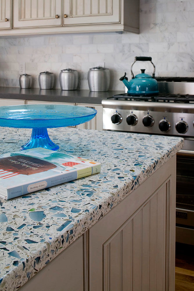 Vetrazzo Recycled Glass Countertops - Glass Designs