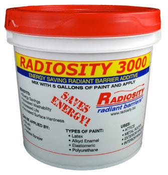 Radiosity 3000 Energy Saving Non Toxic Radiant Heat