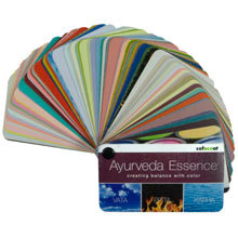 AFM SafeCoat, Ayurveda Color Swatch Book/Paint Fan Deck