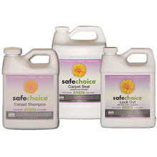 AFM SafeChoice, Comprehensive 3-Part Carpet Shampoo and Sealing System - 300SF