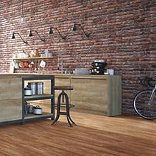 Waterproof Cork Flooring - Wood Look