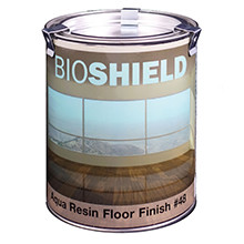 Bioshield, Aqua Resin Floor Finish, Clear