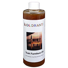 Bioshield, Koloranti Teak Furniture Oil, 16oz