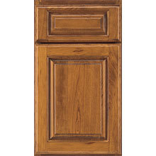 Crystal Cabinets Door Style, Country French Square