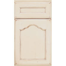 Crystal Cabinets Door Style, French Villa Arched