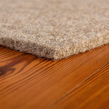 Earth Weave 100% Wool Enertia Carpet Pad, 25 SY Rolls - only available with purchase of Earth Weave Carpet