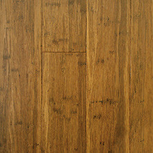 EcoFusion Engineered Strand Sustainable Bamboo Flooring, Carbonized