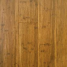 EcoFusion Engineered Strand Sustainable Bamboo Flooring, Light Carbonized