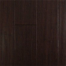 EcoFusion Solid Drop and Lock Strand Sustainable Bamboo Flooring, Coffee Bean