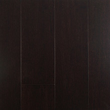 EcoFusion Solid Drop and Lock Strand Sustainable Bamboo Flooring, Dark Chocolate