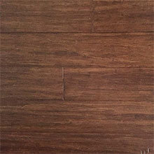 EcoFusion Wide Plank Solid Strand Sustainable Bamboo Flooring, Java