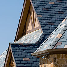 EcoStar, Majestic Slate, Hip & Ridge Tiles