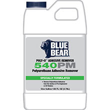 540PM Polyurethane Adhesive Remover, 1-Gallon