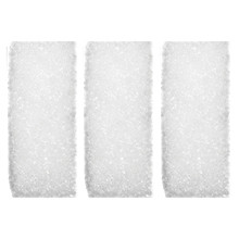 Blissfully Clean, 3 Extra Sponges, Rectangular, White